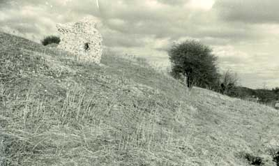 Mountfitchet Castle – Stone remains