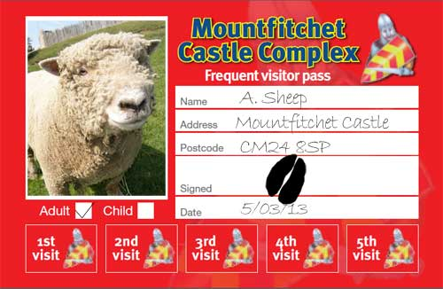 Mountfitchet Castle - Frequent Visitor Pass