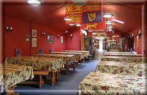 Relax in Mountfitchet Castle's Tearoom