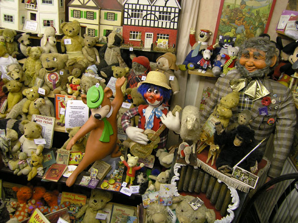 The Toy Museum at Mountfitchet Castle
